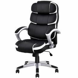Giantex Ergonomic Pu Leather High Back Executive Computer De