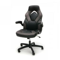 OFM Essentials Collection Racing Style Bonded Leather Gaming