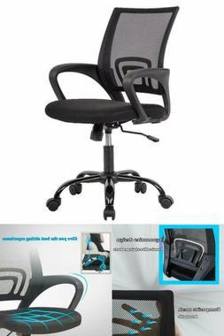Executive Office Chair w/ Lumbar Support, Ergonomic, Adjusta