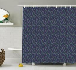 Exotic Vintage Pattern Shower Curtain Fabric Decor Set with