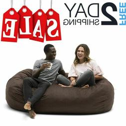 Extra Large Bean Bag Chair Giant Lounger Oversized Bed For A