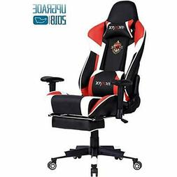 Ficmax Gaming Video Game Chairs Chair With Massage Lumbar Su