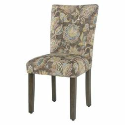HomePop Floral Parsons Chair - Set of 2