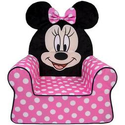 Marshmallow Furniture Foam Toddler Kid's High Back Chair, Po