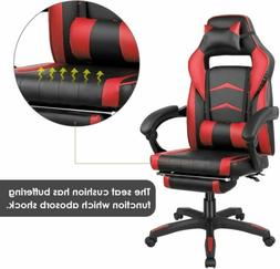 Gaming Chair Racing Ergonomic Recliner Office Computer Desk