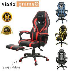 Gaming Chair Racing Ergonomic Recliner Office Computer Desk