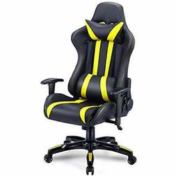 Gaming Chair Racing High Back PU Leather Executive Office Wi