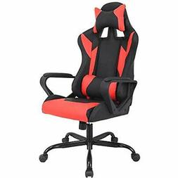 Gaming Chair Racing Office Leather Executive Swivel Rolling