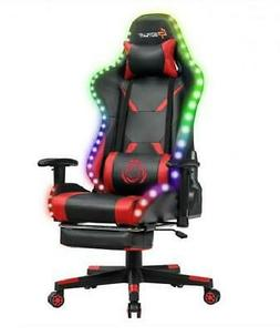 gaming chair recliner racing chair w rgb