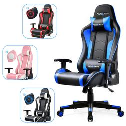 GTRACING Gaming Chair with Bluetooth Speakers Music Video Ga