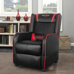 Polar Aurora Gaming Recliner Chair sofa PU Leather Recliner