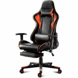 Giantex Gaming Chair Racing Style High Back Ergonomic Office