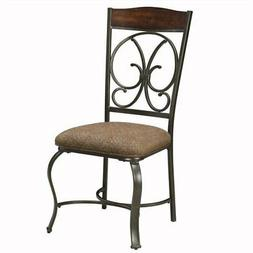 Ashley Furniture Glambrey Dining Side Chair in Brown