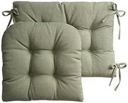 Klear Vu Gripper Jumbo Saturn Rocking Chair Cushion Set, Cel