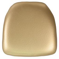 Flash Furniture Hard Gold Vinyl Chiavari Chair Cushion