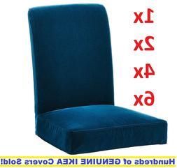Ikea HENRIKSDAL Chair Cover Slipcover DJUPARP DARK GREEN-BLU