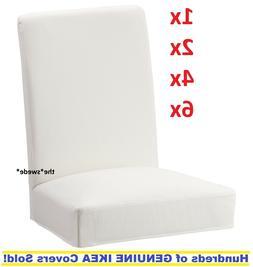 """Ikea HENRIKSDAL Chair Cover Slipcover GRASBO WHITE 21.25""""  N"""