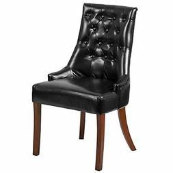 Flash Furniture HERCULES Paddington Series Black Leather Tuf