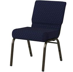 HERCULES Series 21'' Extra Wide Stacking Church Chair with 4
