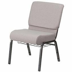 Flash Furniture HERCULES Series 21''W Church Chair in Gray D