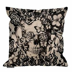 HGOD DESIGNS Cotton Linen Sofa Chair Square Throw Pillow Cas
