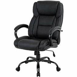 High-Back Big And Tall Office Chair 500lb Executive Ergonomi