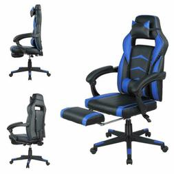 High Back Gaming Chair Computer Desk Chair Adjustable Swivel