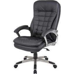 High Back Office Chair Big And Tall Executive Heavy Duty Arm