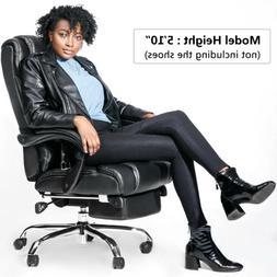 Merax High Back Office Chair Ergonomic PU Leather Executive