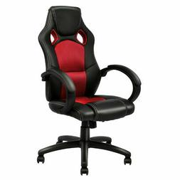 High Back Racing Chair Bucket Seat Office Desk Gaming Chair
