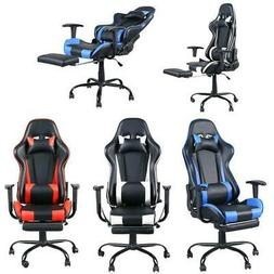 High Back Racing Style Gaming Chair Reclining Office Executi