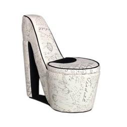 High Heel Chair Shoe Bedroom Furniture For Teen Girls Deco A