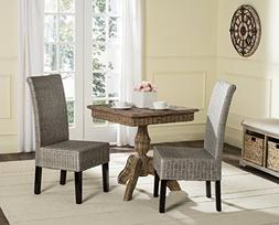 Safavieh Home Collection Arjun Wicker Dining Chair, Antique