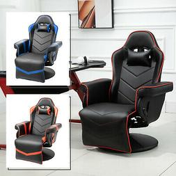 Vinsetto Home Comfort Office Video Game Swivel Chair w/ Ergo