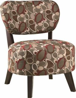 Coaster Home Furnishings Accent Chair with Padded Seat Red/B