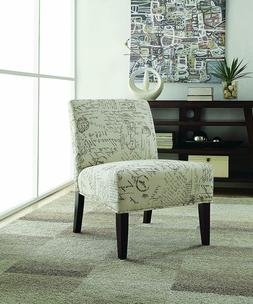 Coaster Home Furnishings French Script Accent Chair Off Whit
