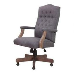 Home Office Chair For Men Women Executive Swivel Padded Seat