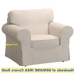 Ikea EKTORP Armchair  Slipcover Cover LOFALLET BEIGE New! SE