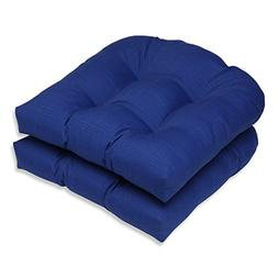 Pillow Perfect Outdoor/Indoor Wicker Seat Cushion, 19 in. x