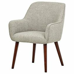 """Rivet Julie Mid-Century Swope Accent Dining Chair, 23.6""""W, L"""