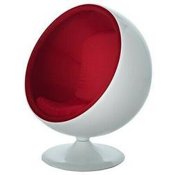 Modway Furniture Kaddur Lounge Chair, Red - EEI-110-RED