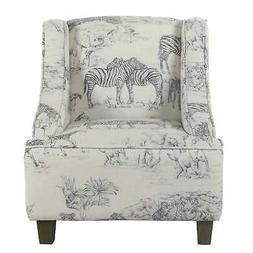 HomePop Kids' Jungle Swoop Chair - Multi Multi
