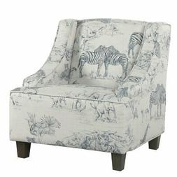 HomePop Kids Jungle Swoop Chair