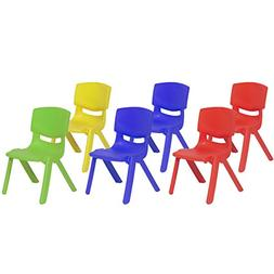 kids plastic stacking school chairs