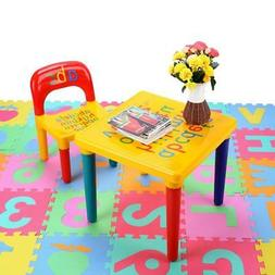 Kids Table and Chairs Set For Toddler Baby Gift Desk Furnitu