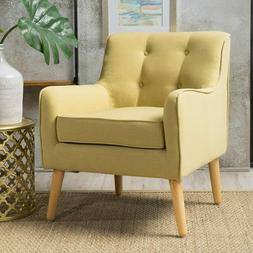 Knight Home Felicity Mid Century Fabric Arm Chair