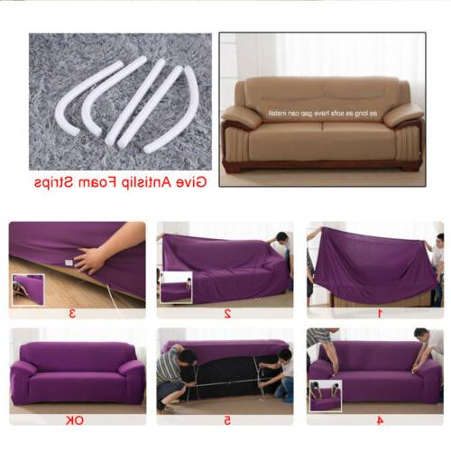 1/2/3/4 Stretch Spandex Chair Couch Elastic Protector