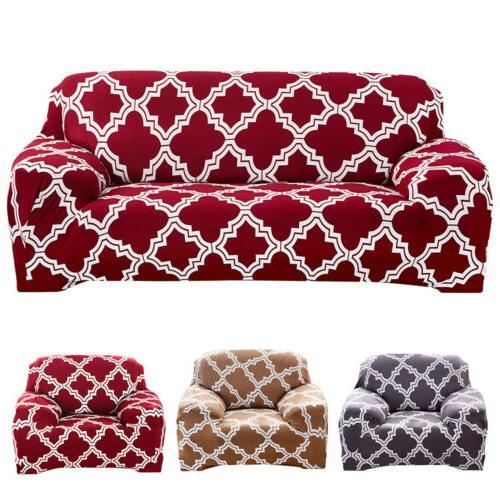 1/2/3/4 Seat Stretch Spandex Chair Elastic