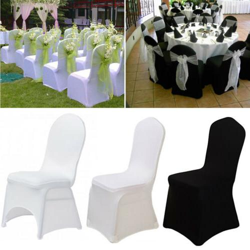 50~100X Wedding Chair Covers Spandex Universal Metal Plastic