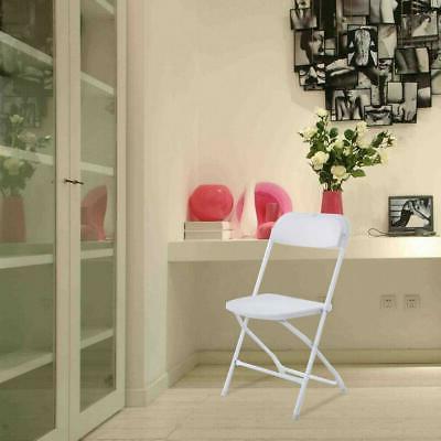 10PCS Plastic Folding Wedding Party Chair Commercial